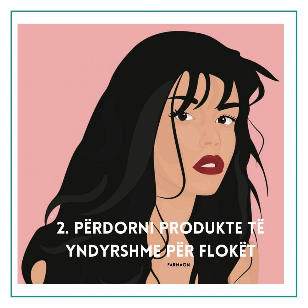Produktet e yndyrshme për flokët shkaktojnë akne.