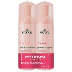 Nuxe very rose mousse 1+1